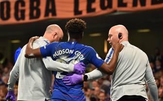 Callum Hudson-Odoi verletzte sich bei Chelseas 2:2 gegen Burnley
