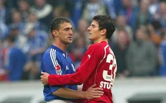 Fussball: 1. BL 04/05, FC Schalke 04-VfB Stuttgart