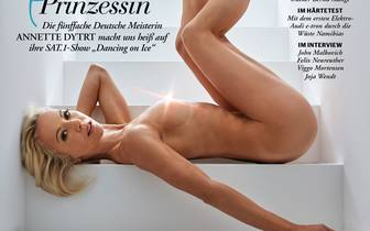 """Annette Dytrt zieht sich für den """"Playboy"""" aus"""