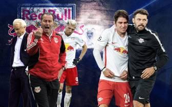 Huub Stevens, Kevin Kampl versagten alle in Diensten von Red Bull Salzburg