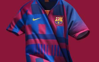 Jubiläumstrikot des FC Barcelona