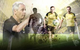 Lucien Favre hat vor dem Ligastart mit dem BVB gegen Leipzig noch viel Arbeit vor sich