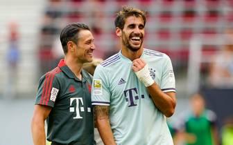 Javi Martinez geht in seine siebte Saison mit dem FC Bayern München