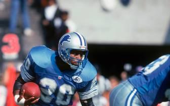Barry Sanders ist einer der größten NFL-Stars aller Zeiten