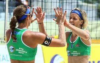 Laura Ludwig und Kira Walkenhorst