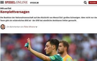 Mesut Özil Rücktritt - Pressestimmen