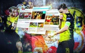 Pressestimmen zu Salzburg gegen Dortmund