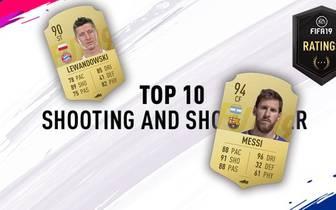 Spieler mit einem starken Abschluss sind Gold wert und treffen aus den unmöglichsten Lagen. EA präsentiert die Top 10 der abschlussstärksten Kicker von FIFA 19