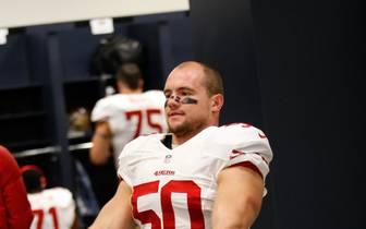 Chris Borland spielte in der NFL für die San Francisco 49ers