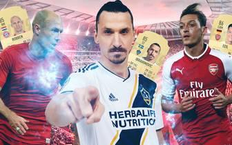 Die Spieler-Ratings der beliebtesten Fußballsimulation FIFA sorgen jedes Jahr für Diskussionsbedarf. SPORT1 zeigt die Top-Stars, welche in FIFA 19 schlechter geworden sind.