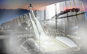 Die Sportstätten der Olympischen Winterspiele 2018 in Pyeongchang