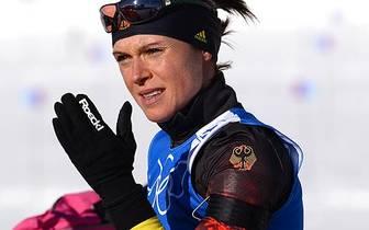 Evi Sachenbacher-Stehle wechselte 2012 vom Langlauf zum Biathlon