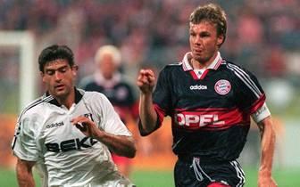 FUSSBALL: CHAMPIONS LEAGUE 97/98 BAYERN MUENCHEN