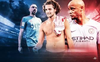 Ablösefreie Stars im Sommer - Rabtio, Kompany, Ribery, Robben