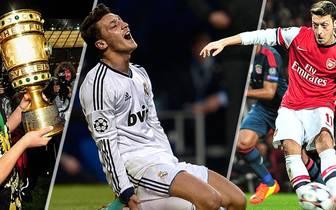 Mesut Özil Karriere Diashow Grafik