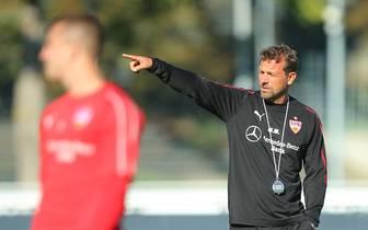 Europa soll mittelfristig wieder das Ziel des VfB sein Markus Weinzierl trainiert seit dem 10. Oktober den VfB Stuttgart