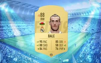 -1 Gareth Bale: Der Flügelflitzer von Real Madrid verliert einen Rating-Punkt