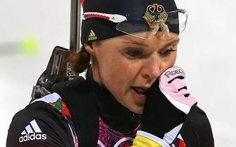 Evi Sachenbacher-Stehle gewann zweimal olympisches Langlauf-Gold