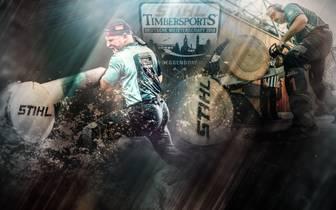 Am 18. August steigt die deutsche Meisterschaft im STIHL Timbersports