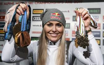 Lindsey Vonn Karriereende Are Weltmeisterschaft