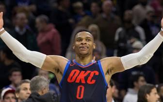 Russell Westbrook erzielte ein Triple-Double