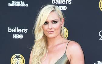 Sports Illustrated Fashionable 50 - Arrivals: Lindsey Vonn