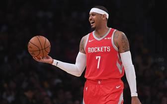 Carmelo Anthony wurde zu den Chicago Bulls getradet