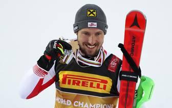 FIS World Ski Championships - Men's Slalom: Marcel Hirscher