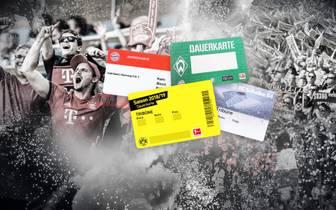 Bundesliga: So viele Dauerkarten verkauften FC Bayern München, BVB und Co.