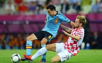 Croatia v Spain - Group C: UEFA EURO 2012