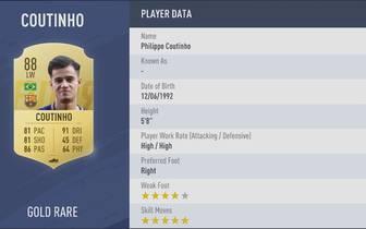 Platz 09: Coutinho