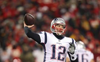 AFC Championship - New England Patriots v Kansas City Chiefs: Tom Brady