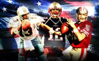 Tom Brady, Joe Montana und Dan Marino sind im Ranking der besten NFL-Quarterbacks aller Zeiten weit vorne