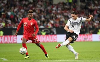 Nico Schulz feiert gegen Peru sein Debüt im DFB-Trikot