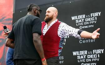 Deontay Wilder v Tyson Fury - New York Press Conference