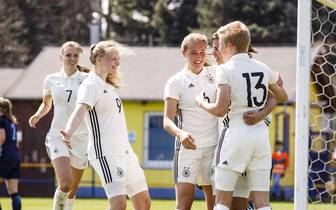 Women's U19 Germany v Women's U19 England - UEFA Women's Under19 Elite Round