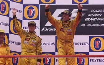 FORMEL 1: GP von BELGIEN 1998, Spa, Francochamps, 30.08.98
