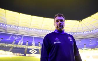 Hamburger SV Unveils New Signing Head Coach Bernd Hollerbach