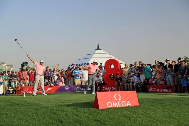 Beim Golf kommen die Zuschauer teilweise sehr nah an die Sportler heran