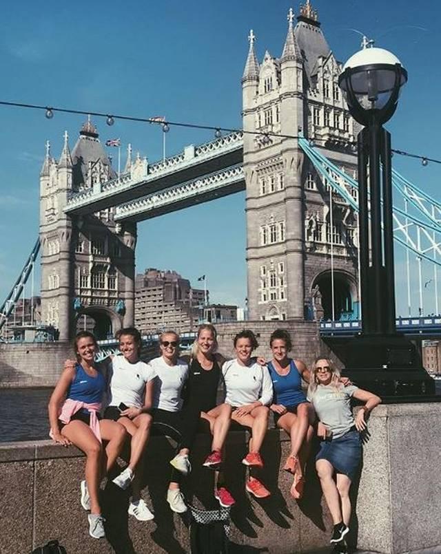 Auch an der Tower Bridge haben Selin Oruz und ihre Kolleginnen schon vorbeigeschaut
