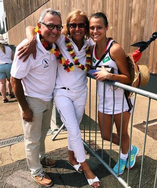 Ihre Familie unterstützt Selin Oruz bei der WM
