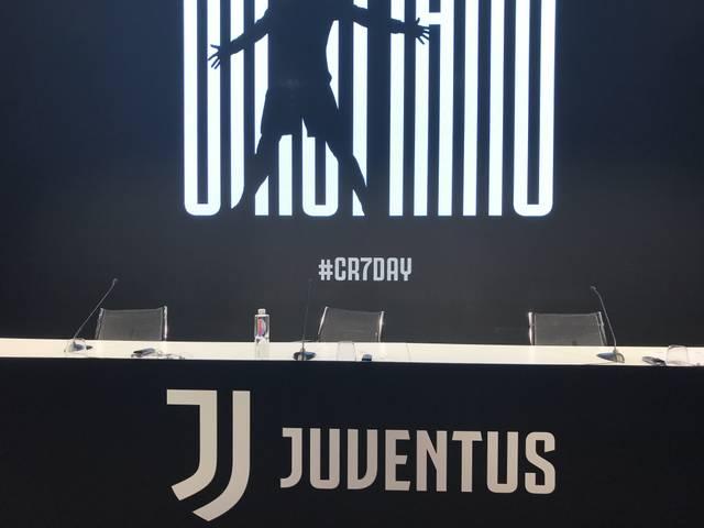 Hier wird Ronaldo um 18.30 Uhr Platz nehmen