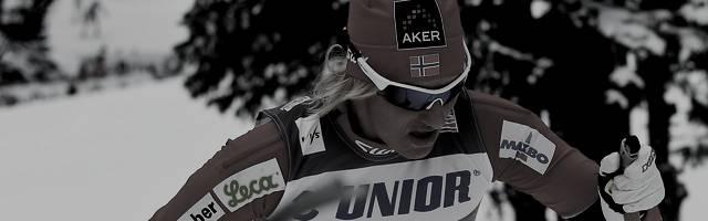 Vibeke Skofterud wurde zweimal Staffel-Weltmeisterin im Langlauf