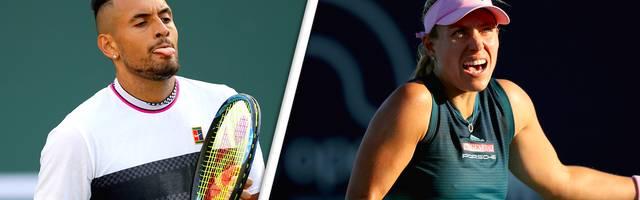 "Angelique Kerber nennt Andreescu in Miami ""Drama-Queen"" - Kyrgios stichelt"