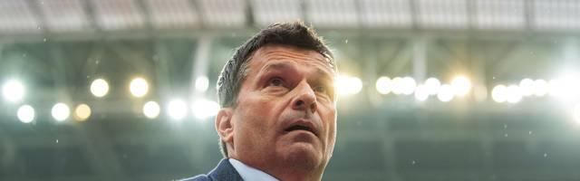 Schalke-Manager Christian Heidel hält nicht viel von einer Super League