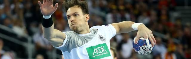 Kai Häfner stieß bereits am Mittwoch zur deutschen Nationalmannschaft
