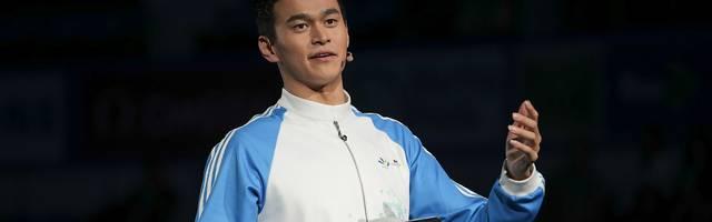 Sun Yang hat seine Dopingprobe mit einem Hammer zerstören lassen