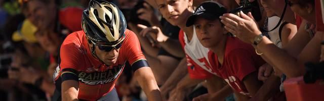 Vincenzo Nibali stürzte bei der Tour de France