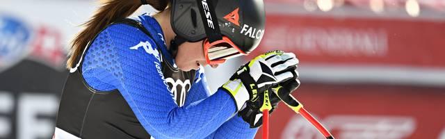 Sofia Goggia holte bei den Olympischen Spielen in Pyeongchang Gold in der Abfahrt