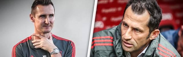 Streit beim FC Bayern: Wirft Miroslav Klose als Nachwuchstrainer hin?